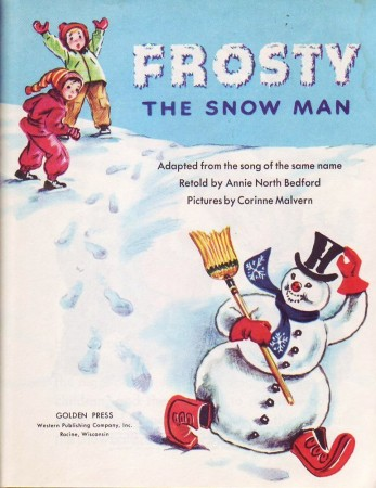 Frosty the Snowman - 1950 Little Golden Book