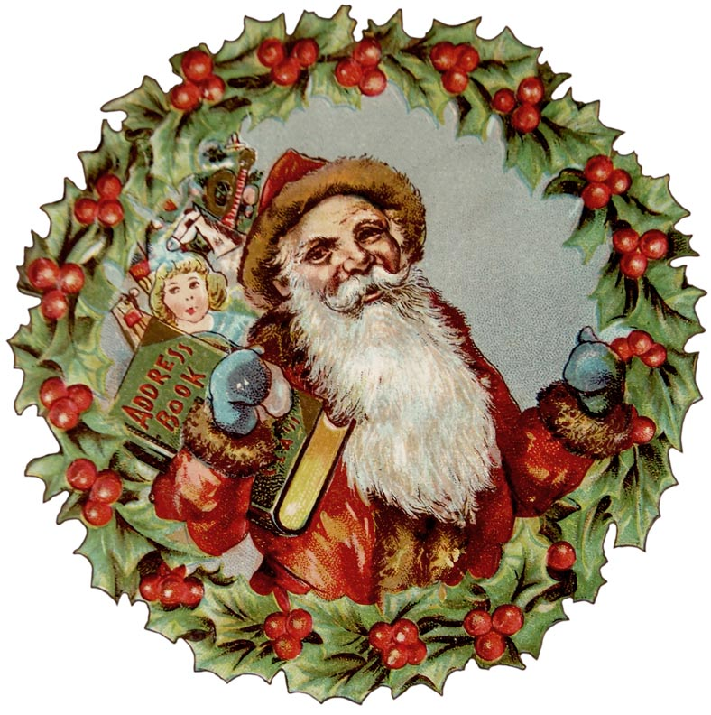 Free Clipart Vintage Santa Claus | Search Results ...