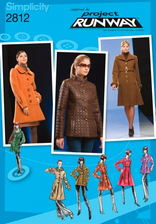 Simplicity 2812 Project Runway Coat Pattern