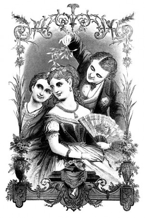 Victorian Christmas Clip Art