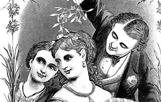 victorian-chrismas-picture-mistletoe-thumb