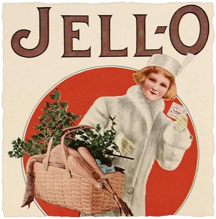 Vintage Jello Christmas Ad from 1912