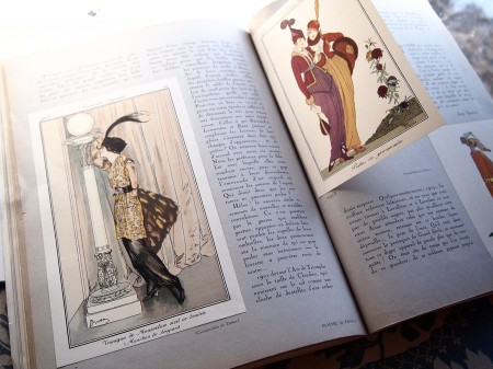 Vintage French Color Fashion Plates