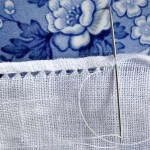 How to Sew an Antique Lacy Rolled Hem