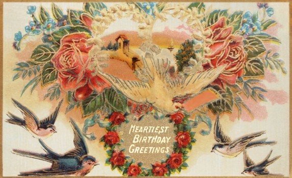 Category Miscellaneous Holidays Vintage Fangirl – Victorian Birthday Cards