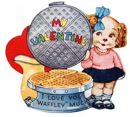 Vintage Kitsch 1940's Valentine