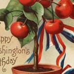 Vintage President's Day Washington's Birthday Postcard by Ellen Clapsaddle