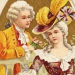 Vintage Victorian Era Valentine's Day Postcard