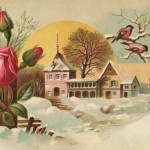 Vintage Early Spring Victorian Trade Card Art