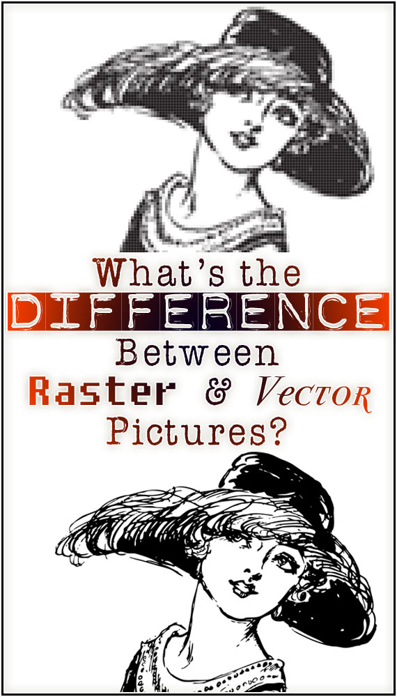 Comparing Raster Based Pictures to Vector Based Pictures