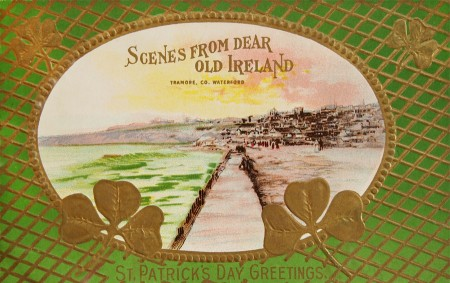 Vintage Happy St. Patrick's Day Irish Postcard - Click for printable image