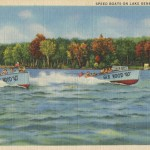 Vintage Boating Postcard from Lake Geneva, Wisconsin