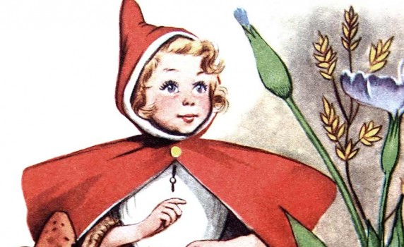 vintage-red-riding-hood-illustration