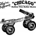 Vintage Roller Skates Magazine Ad Art