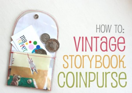 Make a Vintage Storybook Coin Purse