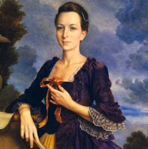 A Young Martha Washington