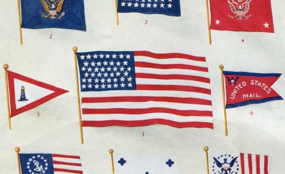 vintage-american-flags-1917