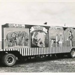 Vintage Circus Traveling Bus Photograph