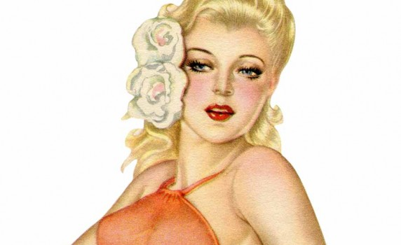 Amusing Vintage pin ups girls