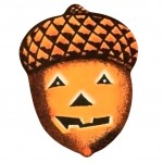 Cute Vintage Halloween Acorn Picture