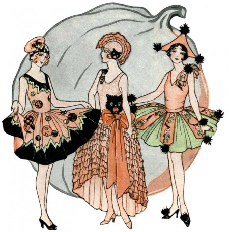 Beautiful Vintage 1920's Halloween Costumes