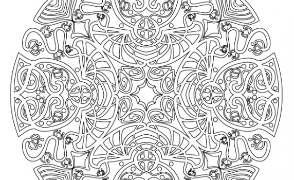 Category » Adult Coloring Pages « @ Vintage Fangirl