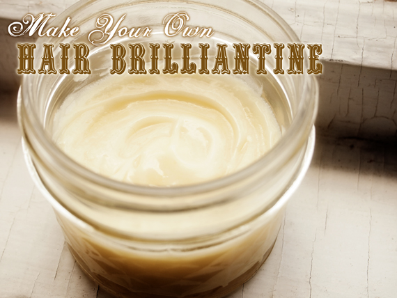 Make Your Own Hair Brilliantine That's Better Than Bumble & Bumble's
