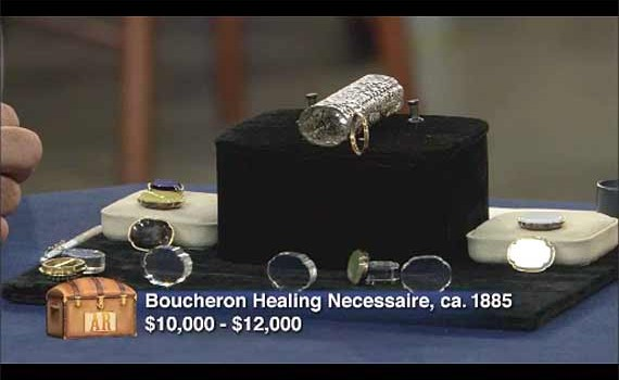 Boucheron Healing Necessaire on the Antiques Roadshow