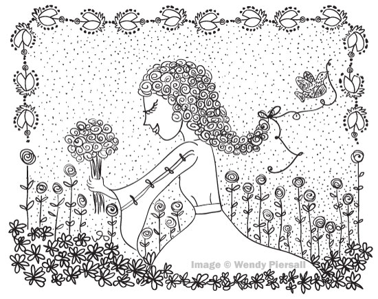 Illustration Inspired by Bjorn Wiinblad