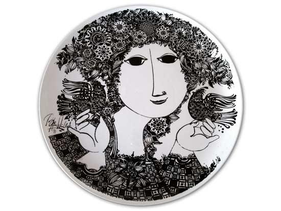 Bjorn Wiinblad Plate