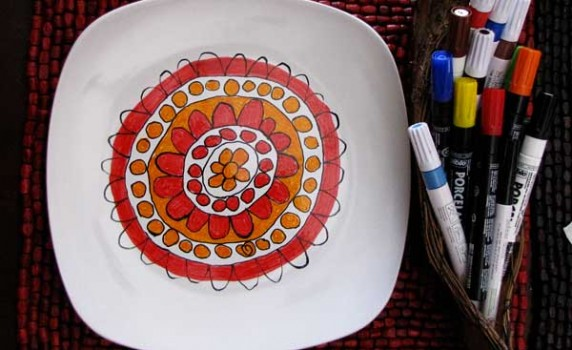 diy-modern-art-dishes