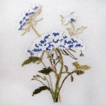 Sweet Vintage Embroidery Pattern of Queen Anne's Lace