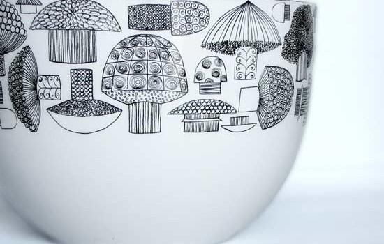 Vintage Kaj Franck Finel Enamelware Bowl