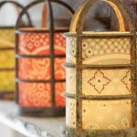 DIY: Vintage Industrial Light Cover Luminarias