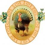 Free Printable Vintage Thanksgiving Postcard Art