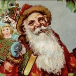 Vintage Santa Clip Art from the Early 1900's
