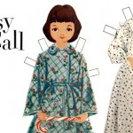 Printable Betsy McCall Christmas Paper Dolls