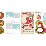 10 Sets of Printable Retro & Vintage Christmas and Holiday Gift Tags