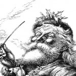 Vintage Late 1800's Santa Picture – Christmas Illustration from Harper's Weekly