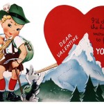 Vintage Traditional German Boy Printable Valentine
