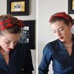 Retro 50's Hair Bow Pattern and Tutorial