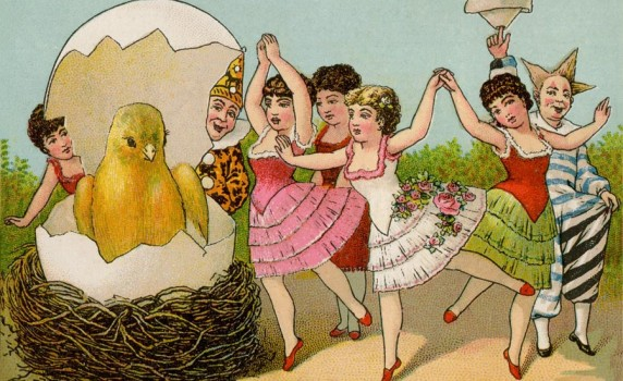 Vintage Easter Celebration - Click for printable art