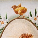 Vintage Easter Egg Postcard from the Early 1900's