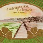 Vintage St. Patrick's Day Ireland Scene Postcard