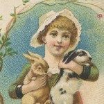 Lovely Vintage Merrick Thread Ad from the Late 1800's
