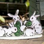 Vintage Easter Printable Paper Toy for Kids
