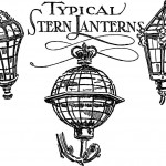 17th & 18th Century Nautical Boat Lanterns Illustrated Print