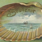 Lovely Souvenir Vintage Travel Postcard With an Ocean Scene