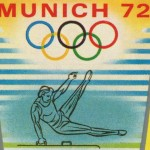 Vintage Munich 1972 Olympics Postage Stamps from Equatorial Guinea