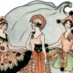 Beautiful Vintage 1920's Halloween Party Dress Costumes